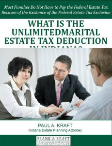 Free Report: What is the Unlimited Marital Estate Tax Dedcution in Indiana?