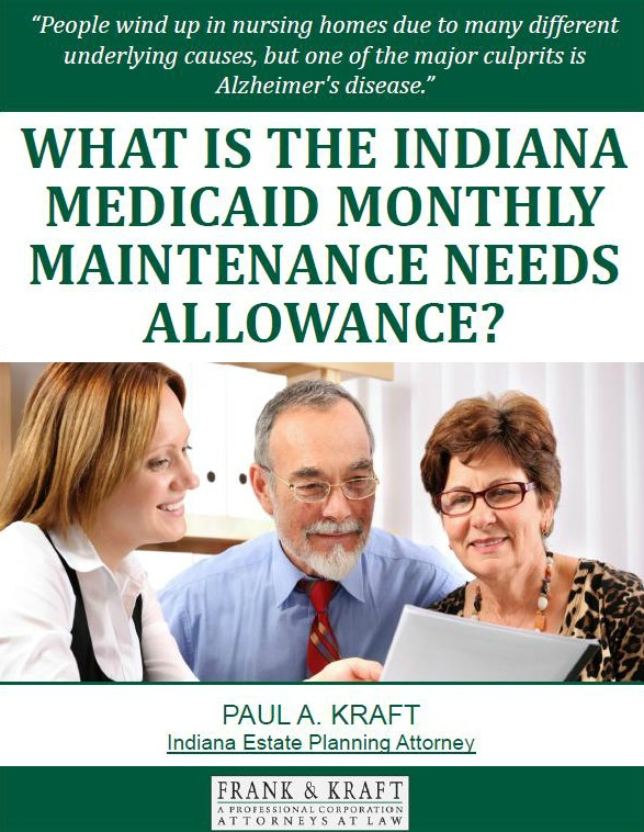 What Is the Indiana Medicaid Monthly Maintenance Needs Allowance