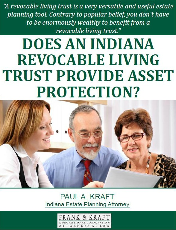 Does An Indiana Revocable Living Trust Provide Asset Protection
