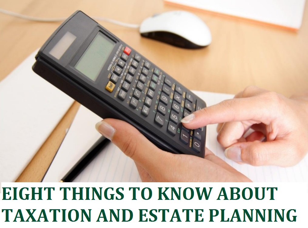 taxation and estate planning